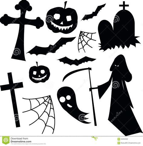 imagenes en blanco y negro de halloween insieme in bianco e nero di orrore di halloween