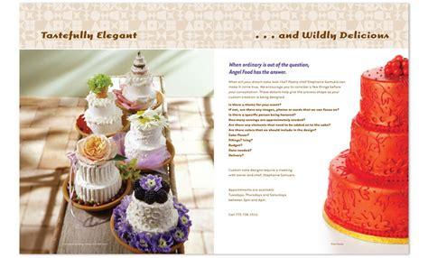 Wedding Cake Brochure by 6 Best Images Of Marketing Brochure Sles Church