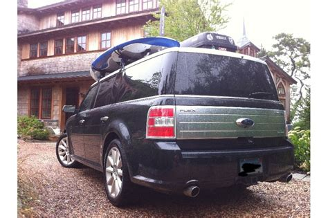2010 Ford Flex Roof Rack by Prospective Flex Owner How Does Everyone Like Thule