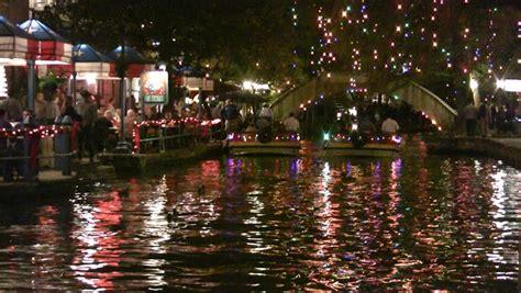 san antonio riverwalk christmas lights boat tour video night christmas lights of the san antonio texas