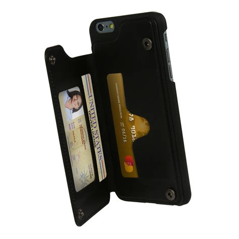 guard dog genuine leather wallet case iphone