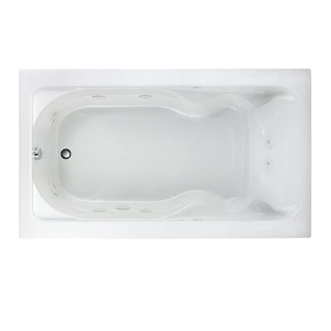 42 inch bathtub american standard lifetime cadet everclean 6 feet x 42 inch whirlpool tub with