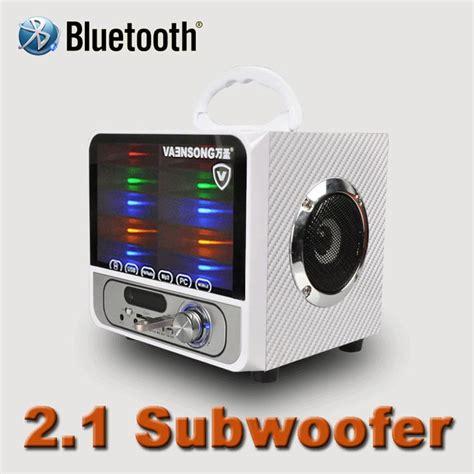 Bluetooth Speaker 2 1 Dazumba Dw166g portable stereo bluetooth speaker jambox style tf usb fm wireless portable sound box