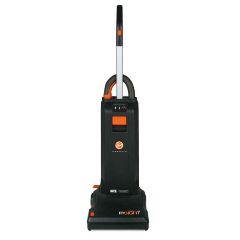 bagged vacuum cleaners hoover ch50100 13 quot insight commercial bagged upright vacuum cleaner