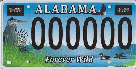 Alabama Vanity Plates by Distinctive License Plates All Vehicles Alabama