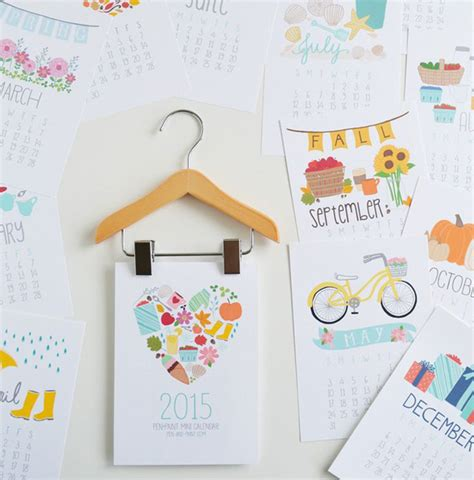 calendar design diy 15 genius diy wall calendar projects decorazilla design blog