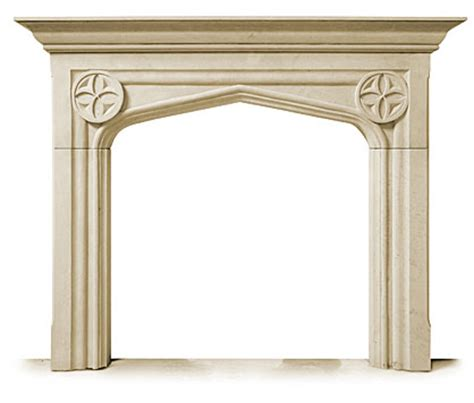 carved limestone fireplace mantel and surround the tudor