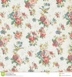 shabby chic floral wallpaper vintage floral wallpaper shabby chic royalty free