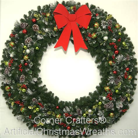 6 foot christmas magic wreath artificialchristmaswreaths