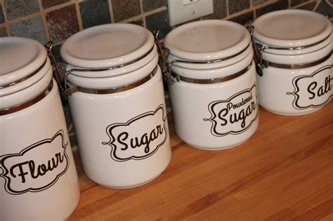 kitchen canister labels burton avenue