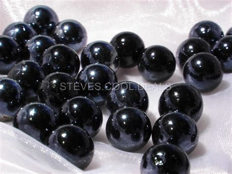 Black Marbles For Vases by 45 White Glass Marbles Table Decoration Vase Display