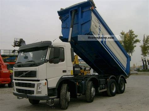 volvo fm     tipper truck photo  specs