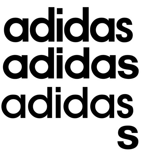 Adidas Font | adidas what s that font