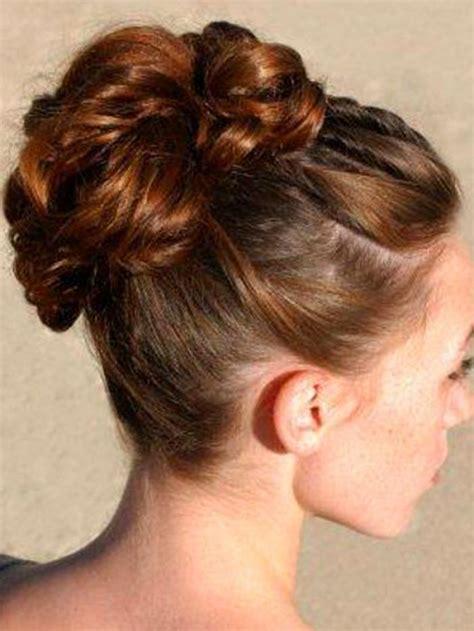 buns hairstyles medium length hair wedding hairstyles high bun updos for medium length hair