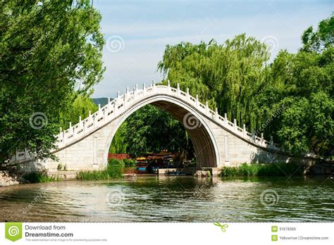 Traditional Chinese Arch Bridge Royalty Free Stock Images Bridge Traditional