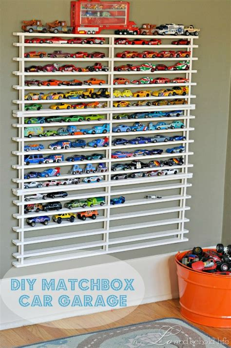 Diy Matchbox Car Garage diy matchbox car garage by a lo and behold bonbon