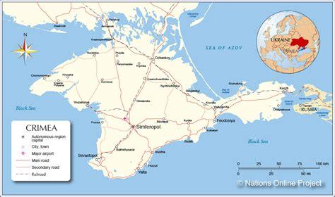 maps russia crimea crimea map map3