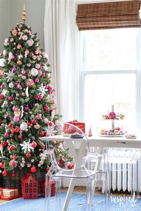 decoracion navidad hecha a mano holiday home tour inspiredbycharm christmas trees