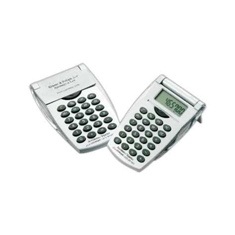 calculator open promotional flip open calculator usimprints