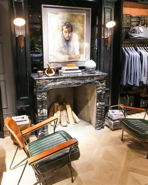 Fireplace Accessories Nyc by Club Monaco S New Flatiron Flagship A Continuous Lean