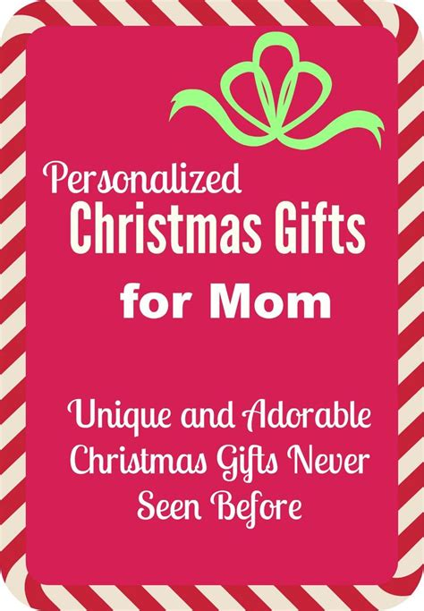 unique gifts for mom 25 unique personalized gifts for mom ideas on pinterest