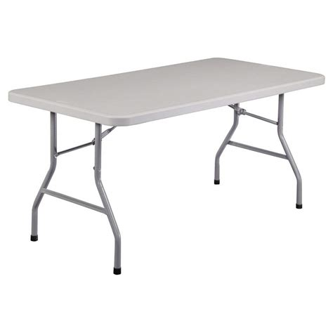 folding table plastic folding table rectangular portable outdoor