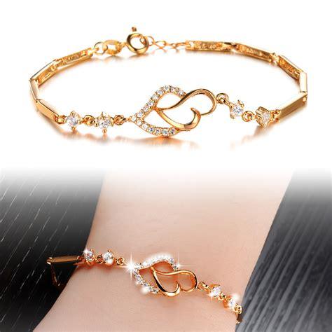 Fashion Bracelet Gold gold plated bracelet new fashion simple style18k gold
