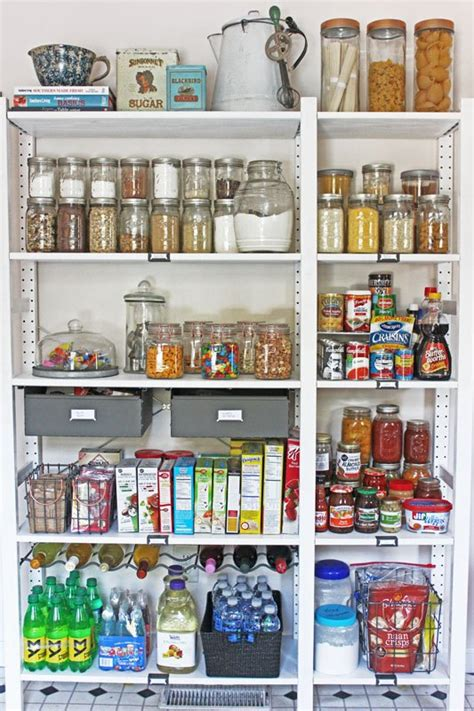 ikea pantry shelving create an open shelving pantry with ikea shelves hometalk