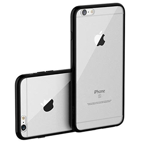 Anti Garskin Karbon Iphone 6 4 7 Inch Pelindung Black Hifi 906172 iphone 6 jetech apple iphone 6 6s shock absorption bumper and anti scratch clear back