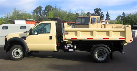 dump pacific truck colors