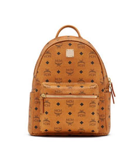 s leather backpacks mcm