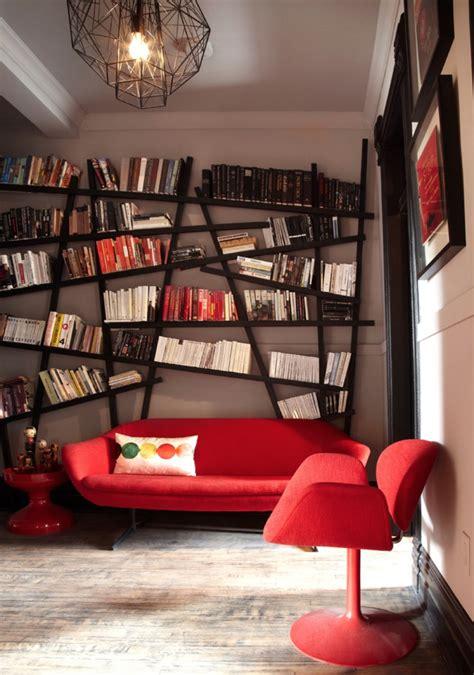 retro home design inspiration pomysły na aranżacje biblioteczki fashionelka pl