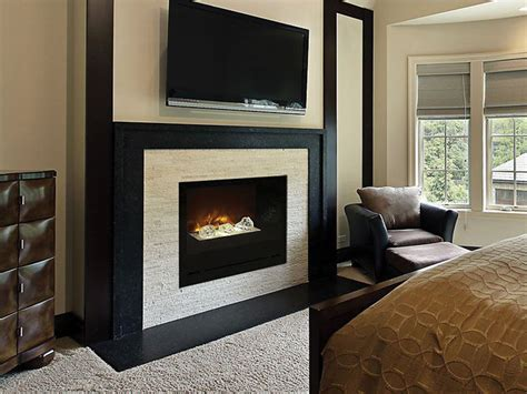 modern flames home custom built in electric fireplaces