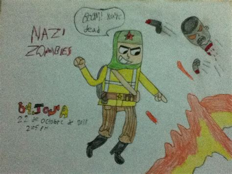 boom your dead nazi zombies boom youe re dead by josael281999 on deviantart