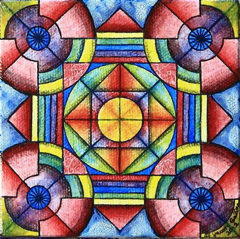 symmetry painting geometric symmetry 2 painting by jason galles