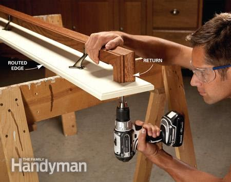 How To Attach Banister To Wall by How To Fix Stair Handrails The Family Handyman