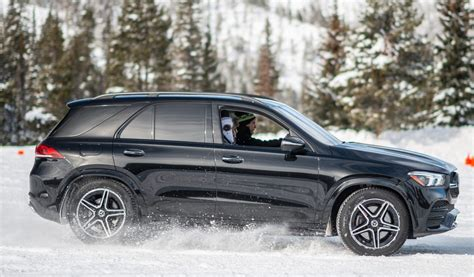 mercedes benz gle  review winter hops  fast