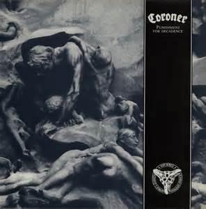 Coroner Records Record Coroner For Decadence Uk Vinyl Lp Album Lp Record 579846