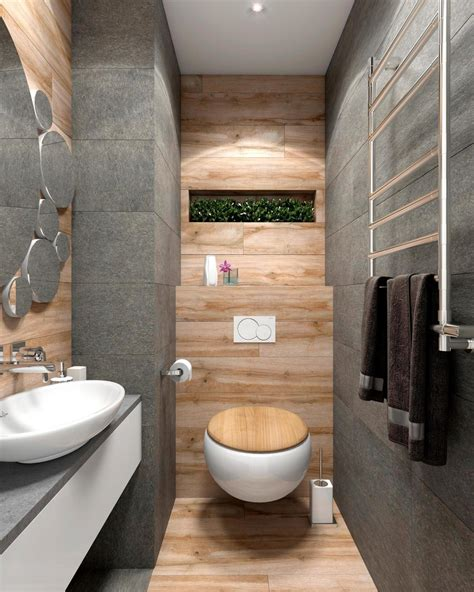 Modern Rustic Bathroom 2 Bright Homes With Energetic Yellow Accents