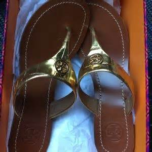 Bow Flat Sandal Original Ori Authentic 47 burch shoes new in original box burch