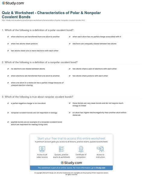 concept review section covalent bonds answers indentifaction bond worksheet answers physical science