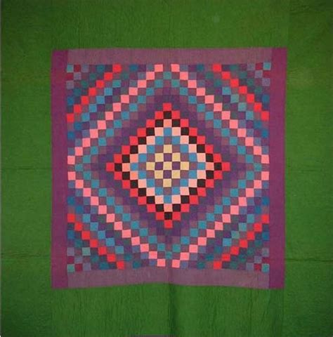 Antique Amish Quilts by Amish And Shadow Antique Quilt Wool Green Border