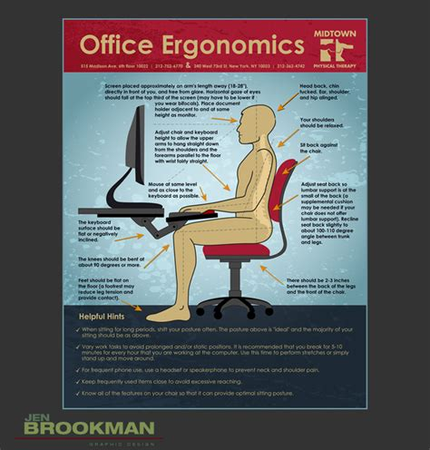 Best Computer Chair Office Ergonomics Midtown Physical Therapy Nashville