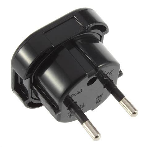 Universal Eu 2 Adapter To 3 Pin Stop Kontak 2016 new universal 3 pin ac power adaptor connector travel power adapter uk to eu