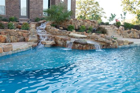Water Garden Holladay by Pool Gallery Dallas Pool Designs Pool Xpressions