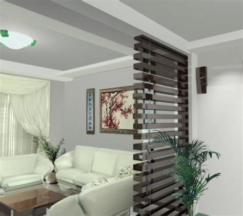 living room partition interior design