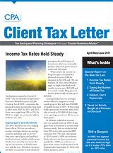 Newsletters Aicpa Accounting Newsletter Templates