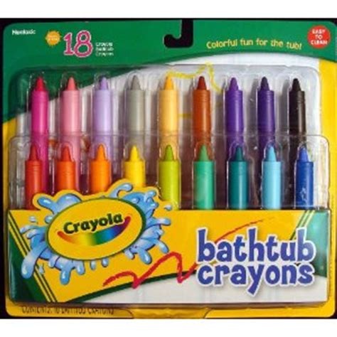 bathtub crayons morning noon and night a day of fun alternatives to paper best results organizing