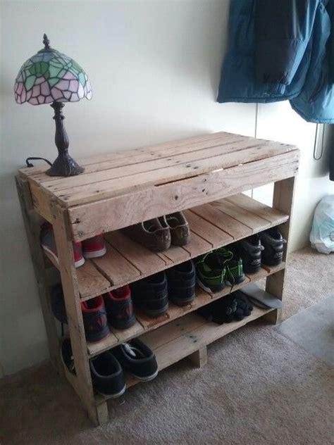 wooden pallet shoe rack ideas top 25 best shoe rack pallet ideas on