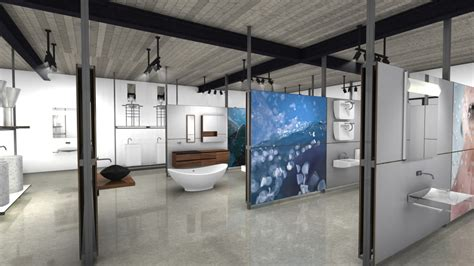 Modern Bathroom Los Angeles Showroom Showrooms Rapsel Spa